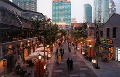 #Xintiandi is a historical and cultural attraction of the city. It was transformed from old Shikumen style neighborhood into a world-class dining, business, entertainment, culture and leisure pedestrian saqure.#shanghai