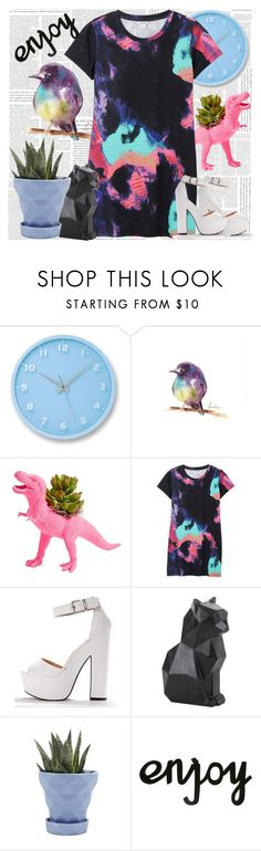 """""""Colorful Summer Outfit 2017"""" by tvshowobsessed ❤ liked on Polyvore featuring Lemnos, The Plaid Pigeon, Monki, Hot Topic and Chive"""