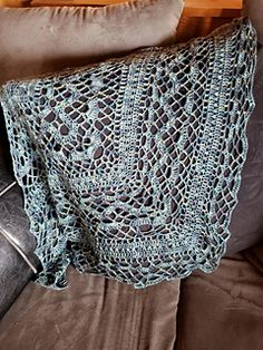 Ravelry: Klaziena Shawl pattern by Kirsten Bishop