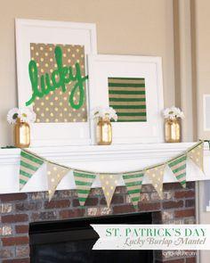 21 St Patty's Day Decor/Craft Ideas from Tatertots & Jello :D