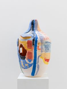 Roger Herman is an artist and professor based in Los Angeles. Ceramic Clay, Ceramic Painting, Ceramic Bowls, Porcelain Ceramic, Pottery Sculpture, Sculpture Clay, Ceramic Sculptures, Slab Pottery, Ceramic Pottery