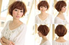 Japanese Short Hairstyle view