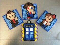 doctor who perler bead