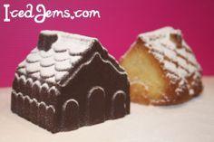 Christmas Village Cakes Recipe and Tutorial