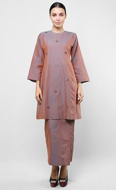 Indian Stone Kurung Set in Multi POYA