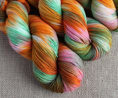 Fruitarian - Hand Dyed Sock Yarn