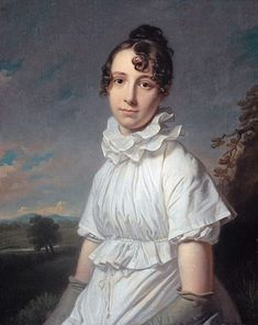 Emma Jane Hodges, daughter of the artist, 1810 (Charles Howard Hodges) (1764-1837) Rijksmusuem Amsterdam