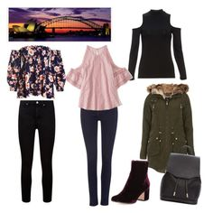 Sydney in a carry on: night outfits Winter Night Outfits, Winter Outfits, Travel Packing Outfits, Carry On, Sydney, Winter Fashion, Shoe Bag, Polyvore, Stuff To Buy