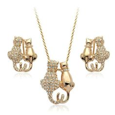 Kitty Cat Jewelry Sets
