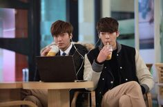 Check out these 8 epic Kim Tan (Lee Min Ho) and Choi Young Do (Kim Woo Bin) in Heirs Lee Min Ho, Shin Min Ah Kim Woo Bin, Kim Wo Bin, Heirs Korean Drama, Korean Drama Best, The Heirs, Korean Dramas, Kdrama, Park Hyung