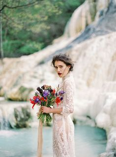 all lace romantic wedding dress sleeves sheer | Photography: Thecablookphotolab