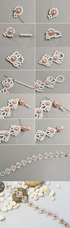 Like the pearl bracelet?The details will be shared by LC.Pandahall.com soon.