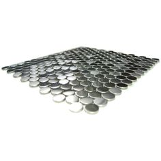 Penny Round Pattern Mosaic Stainless Steel Tile