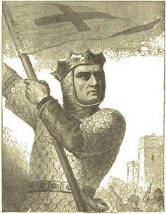 Godfrey of Bouillon, Crusader  1060-1100