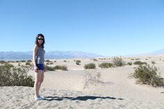 Les Gommettes de Melo: dunes de sable dans la Death Valley.