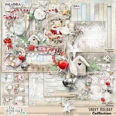 Snowy Holidays Collection by Palvinka Designs   Digital Scrapbook @ at The Digichick