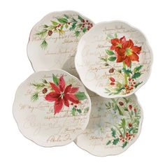 Have to have it. Lenox Winter Meadow Dessert Plates