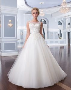 This is beautiful in person.  Wedding Dresses by Lillian West | Wedding Dress & Bridal Gown Designer | Prodrewrite