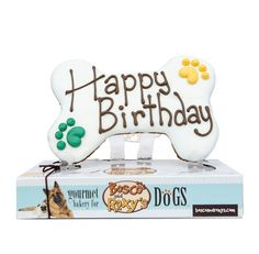Pre-packaged Paw-ty Time Happy Birthday GIANT BONE 2/Case --MSRP $12.99