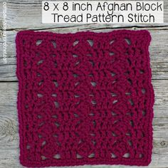 Guest Post: 10 Crochet Stitch Tutorials You Need To Save For Later