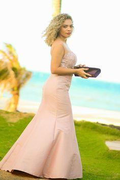vestido para casamento a tarde