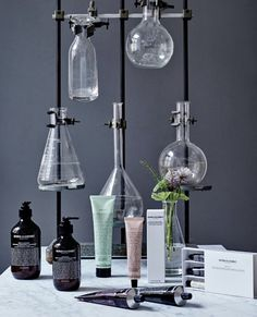Grown Alchemist is a new generation of organic skincare formulations comprising of natural technolog Cosmetics Laboratory, Chemistry Experiments, Science, Design Textile, Cosmetic Display, Perfume Store, Design Lab, Alchemist, Retail Design