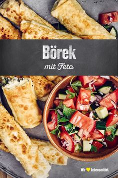 Easy Dinner Recipes, Easy Meals, Veggie World, Hamburger Meat Recipes, Healthy Sandwiches, Turkish Recipes, Cheesecake Recipes, Vegan Desserts, Finger Foods
