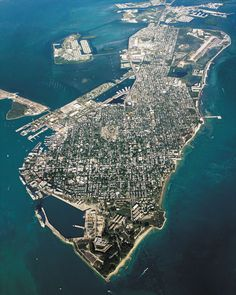 Key West................. A mile and a half by four miles - you must see the sunsets here and do the island jet ski tour!
