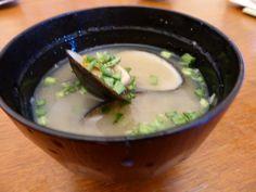 タテボシガイの味噌汁