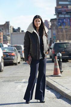 Caroline Issa via Stockholm Street Style
