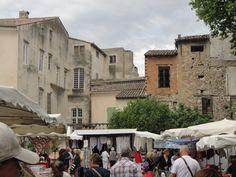 Market day in I'lse sur la Sorgue