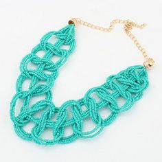 Retro Beads Openwork Pendant Necklace For Women #CLICK! #clothing, #shoes, #jewelry, #women, #men, #hats, #watches