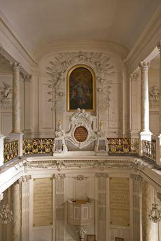 Koninklijke kapel – Protestantse kerk van Brussel, Museumstraat 2 in Brussel  / Chapelle royale – Église protestante de Bruxelles, rue du Musée 2 à Bruxelles (foto/photo : A. de Ville de Goyet,GOB/ SPRB)