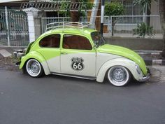 custom vw beetle... Like the lift off deck