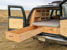 Truck Topper Camping, Truck Cap Camping, Minivan Camping, Jeep Camping, Minivan Camper Conversion, Suv Camper, Build A Camper, Truck Bed Camper, Accessoires 4x4