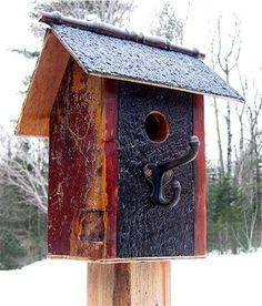 Ready for occupancy ...all birds welcome!