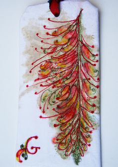 DIY natural watermark and mark making withpermanent markers and alcohol + plus other fiber art tips from Empress Wu Designs #textile_art    #techniques #dyeing