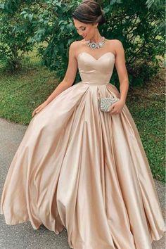 Poofy Prom Dresses, Prom Dresses Under 100, Pretty Prom Dresses, A Line Prom Dresses, Cheap Prom Dresses, Ball Gown Dresses, Formal Evening Dresses, Modest Dresses, Dress Formal