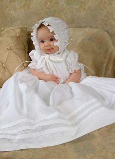 047c28609 Hermoso vestido para bautizo Vestidos Bautizo Bebe, Ropones Para Bautizo,  Vestido De Madrina,