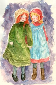 Snow-White & Rose-Red by Carmen Hevia [©2007]