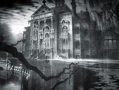 Conceptual art for the Haunted Mansion Movie. created by Nathan Schroeder. Love the art ,but not the movie