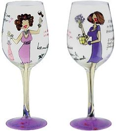 My Mother My Friend Bottoms Up Wine Glass *** For more information, visit image link.Note:It is affiliate link to Amazon.