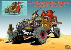 Wacky Raceland - Wacky Racers remiagined as Mad Max - Album on Imgur