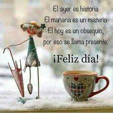 Good Morning In Spanish, Good Morning Funny, Good Morning Messages, Good Morning Good Night, Love Messages, Good Day Quotes, Night Quotes, Good Morning Quotes, Good Night Greetings