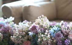 花のしみについて 生きている花 : 一会 ウエディングの花