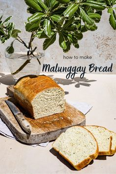How to Make Malunggay Bread - Shokupan (Milkbread) Style