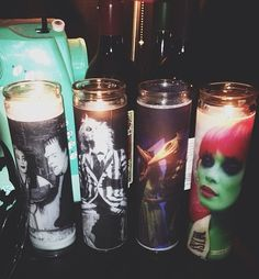 More candles. Beetlejuice and The Munsters.