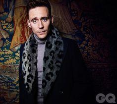 If that coat was by itself I would hate it. But since it on Tom Hiddleston I love it X) Thomas William Hiddleston, Tom Hiddleston Loki, Hiddleston Daily, Gq Magazine, Magazine Covers, British Actors, British Men, Loki Laufeyson, November 2013