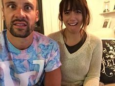 nick blood & chloe bennet, I found this picture in color yay!