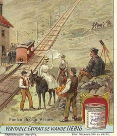 Victorian Trade Card  Pair from OXO  Chemins de by TheOldBarnDoor